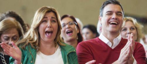 Pedro Sánchez y Susana Díaz en imagen