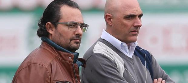 Alexandre Mattos e Maurício Galiotte buscam o substituto ideal para Mina.
