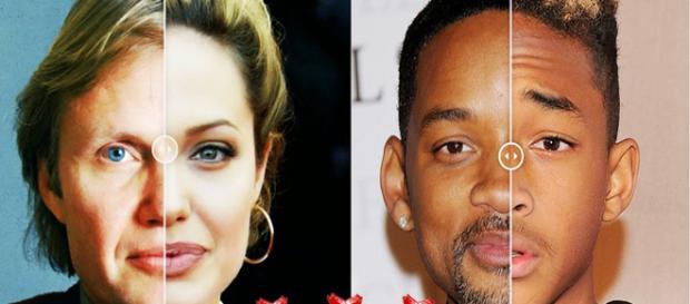 Eles são idênticos a seus pais famosos