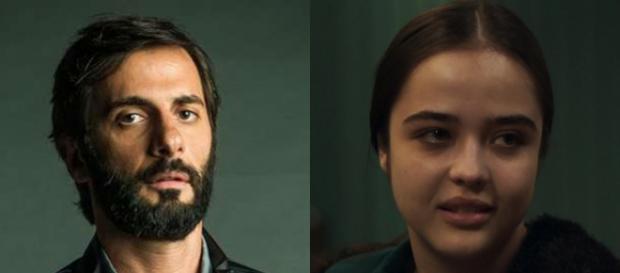 Imagem: Vinícius e Laura em 'O Outro Lado do Paraíso'.
