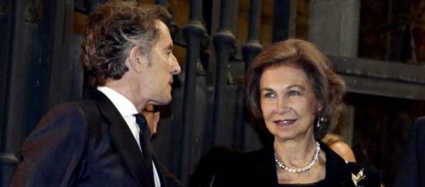 La reina Sofía mantiene una entrañable amistad con Alfonso Díez