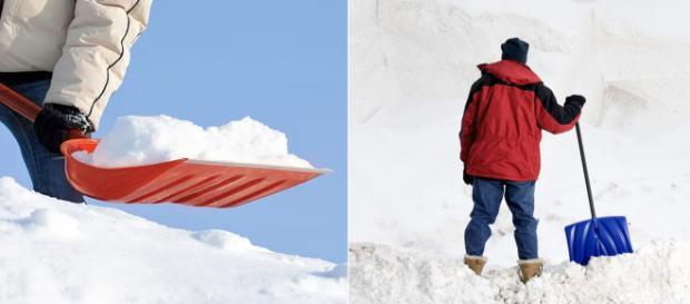 Shoveling snow is never easy. Image Credit: Blasting News