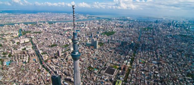 Tokyo, capitala Japoniei, este considerat cel mai populat oraș al lumii (aglomerația Tokyo-Yokohama- Kawasaki)
