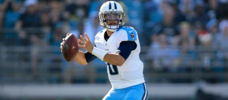 Marcus Mariota and the Tennessee Titans are riding high heading into Week 5. [Image via SI.com/YouTube]