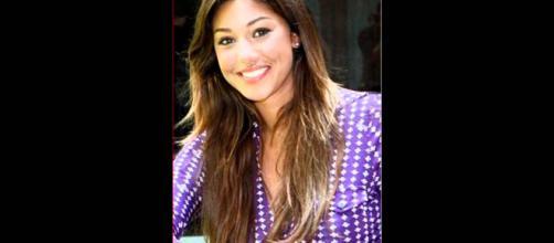 Belen Rodriguez da ragazza è stata allontanata da ben due scuole.