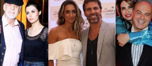 Casais de famosos que se separaram em 2018.