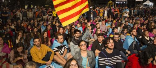 Los ciudadanos se manifestaron tras el 1-O en Cataluña