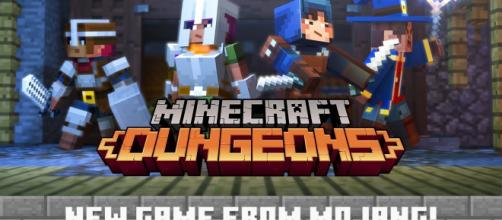 Minecraft: Dungeons has just been announced at Minecon [Image via Minecraft/YouTube]
