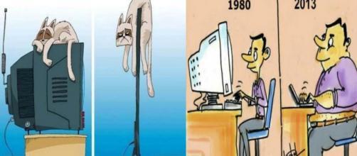 Muita coisa mudou com o avanço da tecnologia