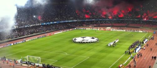 Napoli, lo stadio San Paolo è pronto ad ospitare il Liverpool di Jurgen Klopp