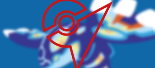 O símbolo dos ginásios em Pokémon Go.