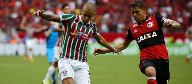 Com contrato se encerrando, Marcos Júnior não deve permanecer no Flu em 2019 (Foto: Portal Altiva)