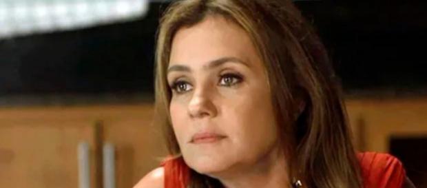 Laureta em cena da novela Segundo Sol