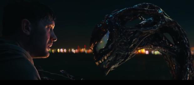 Tom Hardy stars as journalist-turned-anti-hero, Eddie Brock in the 'Venom' movie. - [ComicBook.com / YouTube screencap]