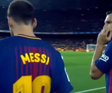 Messi e Alba [Imagem via YouTube]
