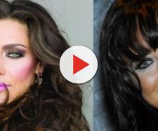 Maria Fernanda Cândido e Fernanda Vasconcellos, erraram na maquiagem