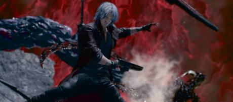 Capcom adds three new weapons for Dante in 'Devil May Cry 5' at the NYCC showcase [Image Credit: Devil May Cry/YouTube screencap]