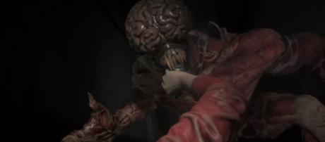Capcom will feature redesigned versions of the Lickers in the revamped 'Resident Evil 2' [Image Credit: IGN/YouTube screencap]