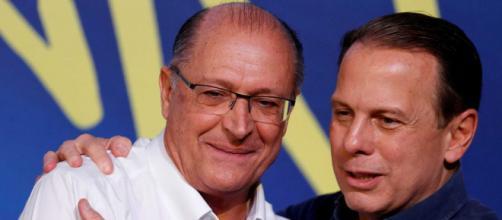 Alckmin e Doria se desentendem em reunião do PSDB