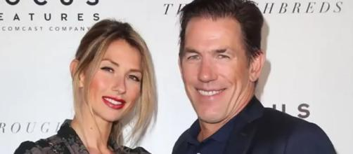Former Bravo star Ashley Jacobs still supports Thomas Ravenel. [Image Source: Gossip And More - YouTube]