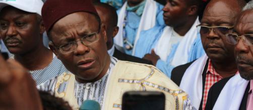 Maurice Kamto face à la presse