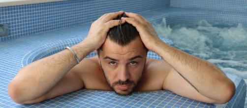 Sessione relax e benessere per il manager e imprenditore pugliese Christian Di Maggio - Foto: Instagram