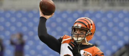 The Bengals can take hold of the AFC North with a win against Pittsburgh this week. [Image via USA Today/YouTube]