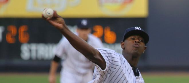 The Yankees' Luis Severino possibly crowned ace of the staff a year too soon