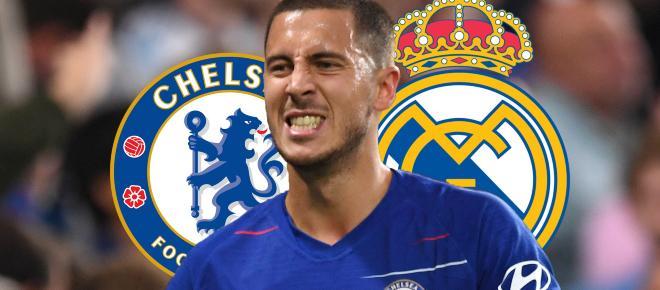 Hazard quiere jugar en el Real Madrid la próxima temporada