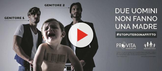 'Due uomini non fanno una madre': la nuova propaganda di Pro Vita