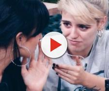 Natalia y Alba Reche, en la Academia de OT 2018. / YOUTUBE