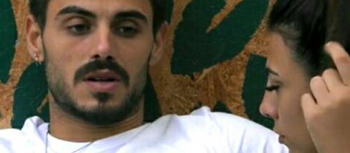 GfVip, Francesco arrabbiato con Giulia: 'Ci sono delle cose che vorrei tenere per me'
