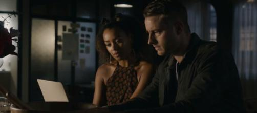 Kevin and Zoe are writing an email to a Vietnam veteran. Photo: screencap via TV Guide/ YouTube