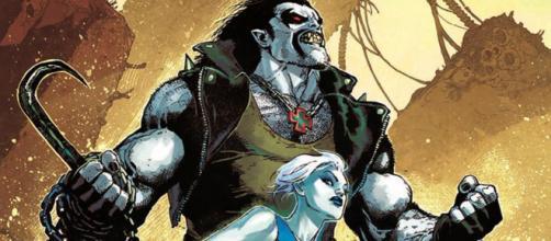 Lobo e Killer Frost na Liga da Justiça da América.