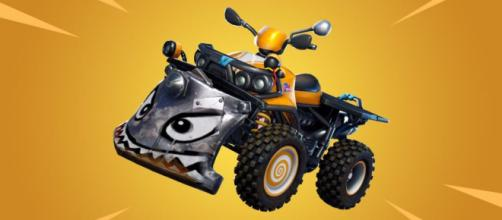 New vehicle is coming to Fortnite Battle Royale. [Image Credit: In-game screenshot]