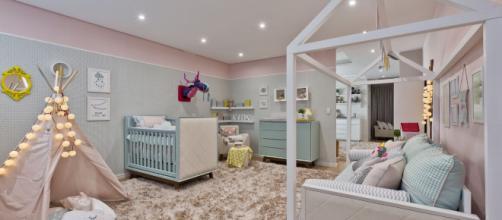 O projeto deve levar em consideração o espaço disponível e a adaptação deste espaço quando a criança crescer.
