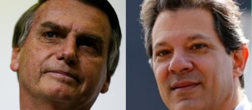 Os dois candidatos disputam a preferência da população no segundo turno das eleições
