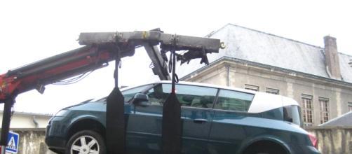 véhicule contenant un moteur diesel