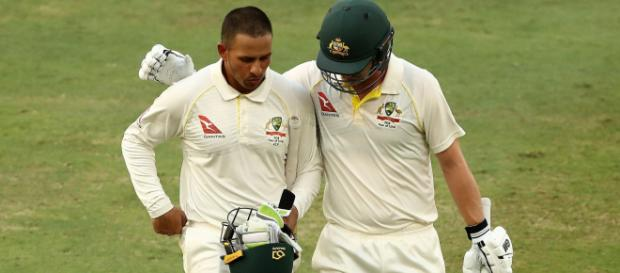 Highlights : Pakistan v Australia, 1st Test, Dubai, 5th day ... -(Image via espncricinfo/Twitter)