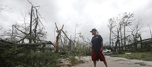 La distruzione dell'uragano Michael in Florida