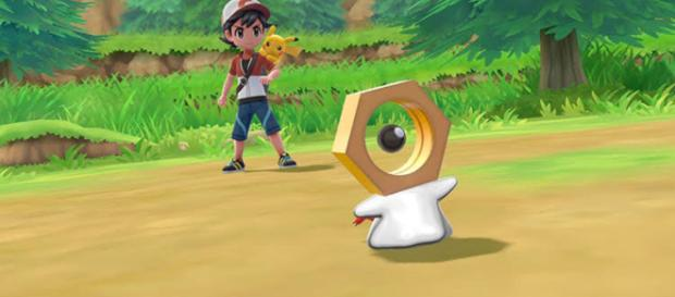 'Pokemon GO adds a never before seen pokemon to the game. Image Credit: Jones Smith / YouTube Screenshot