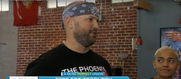 Scott Strode founded the Phoenix Gym for a purpose far beyond fitness. - [CBSThisMorning - YouTube screencap]