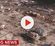 Fotogramma tratto dalla ripresa aerea della CNN.