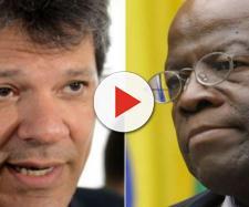 Haddad revela conversa com Joaquim Barbosa