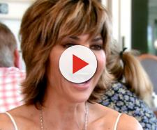 Lisa Rinna is seen on 'RHOBH.' - [Bravo / YouTube screencap]