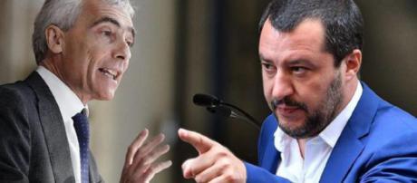 Pensioni, Matteo Salvini risponde all'attacco del presidente dell'Inps, Tito Boeri, su Quota 100 e la controriforma Fornero