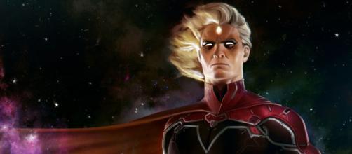Adam Warlock, o Guardião da Jóia da lnos quadrinhos.