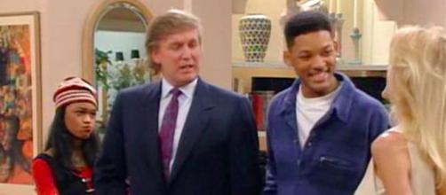 """Donald Trump já fez uma participação na série 'Um Maluco no Pedaço""""."""