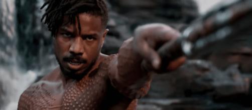 Erik Killmonger em Pantera Negra.
