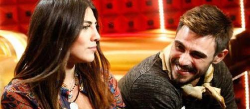 Francesco Monte e Giulia Salemi protagonisti di una lite al Grande Fratello Vip